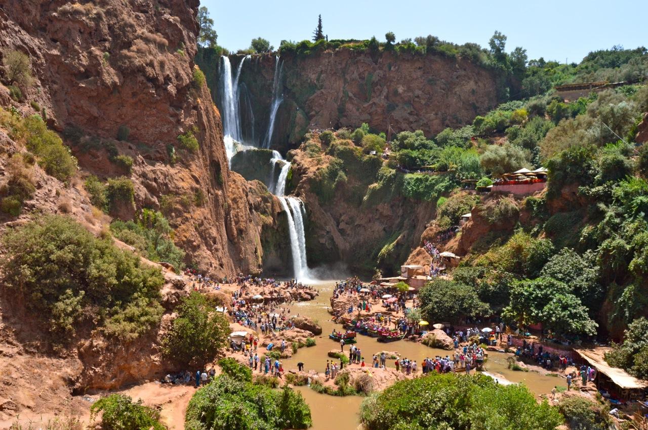 cascadas de ouzud desde marrakech